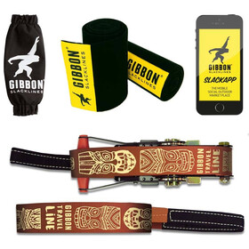 GIBBON Travelline Set de Slackline, brown